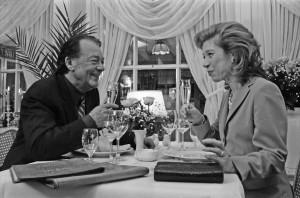 Forsthaus Seebergen: Dreharbeiten zur Folge 'Hochzeitstag' der Serie 'Evelyn Hamanns Geschichten aus dem Leben' im Forsthaus Seebergen, 1999